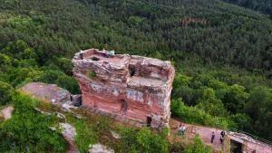 Burgruine Drachenfels – Wandern mit der Familie in Busenberg