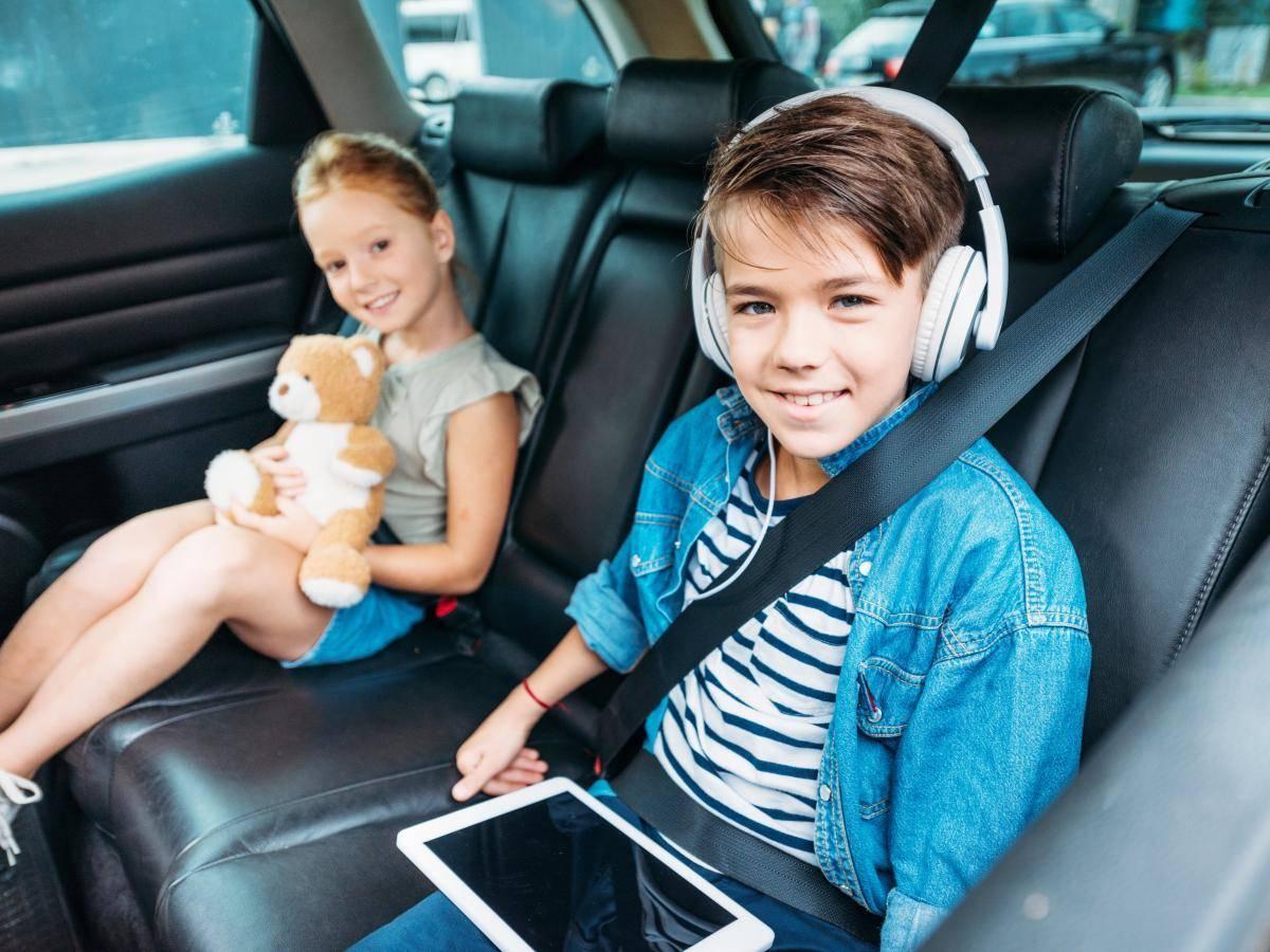 lange Autofahrten mit Kinder