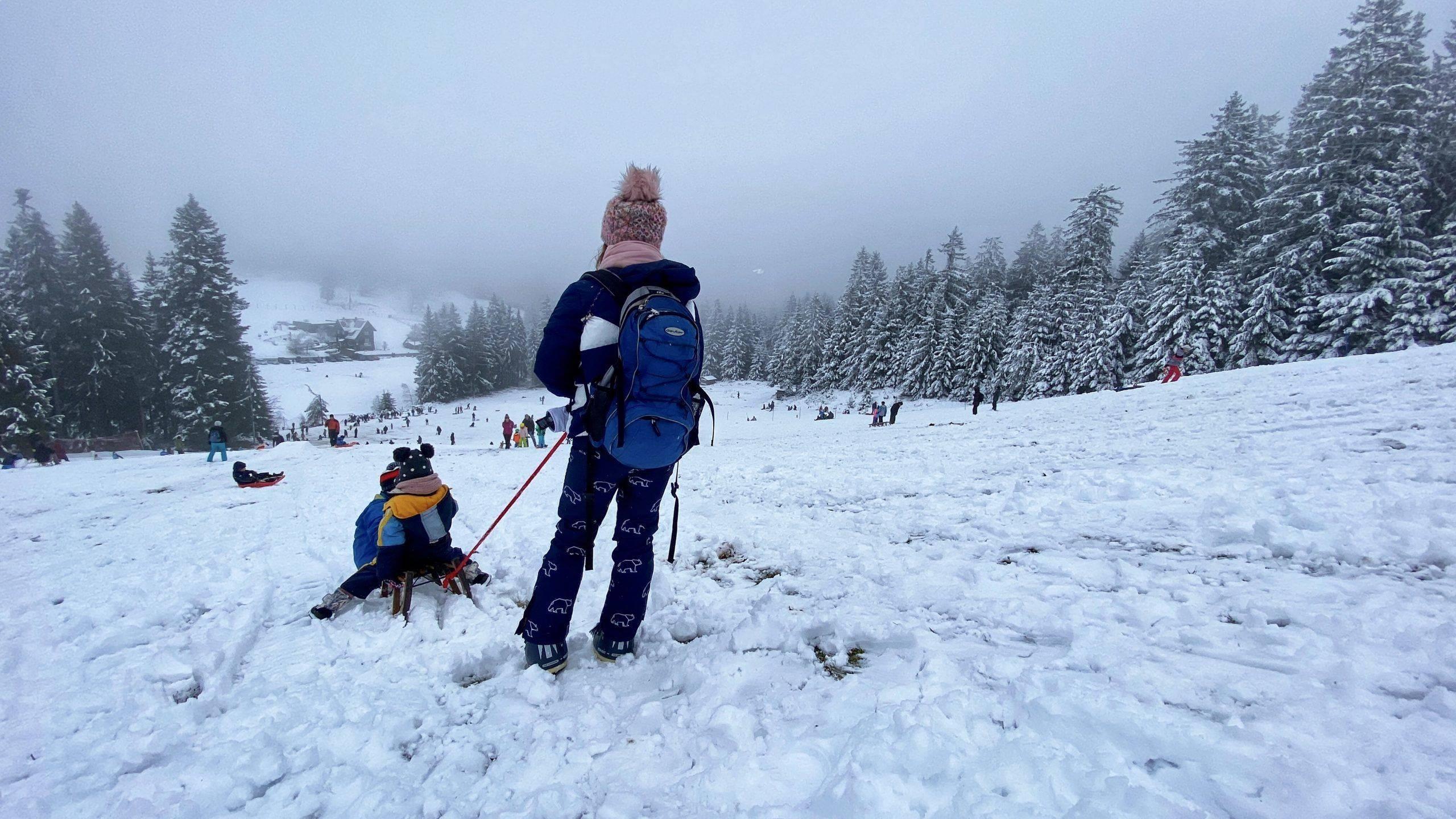 Familien Winter Wonderland Kaltenbronn im Schwarzwald – Rodeln, Skifahren und ein Walderlebnispfad