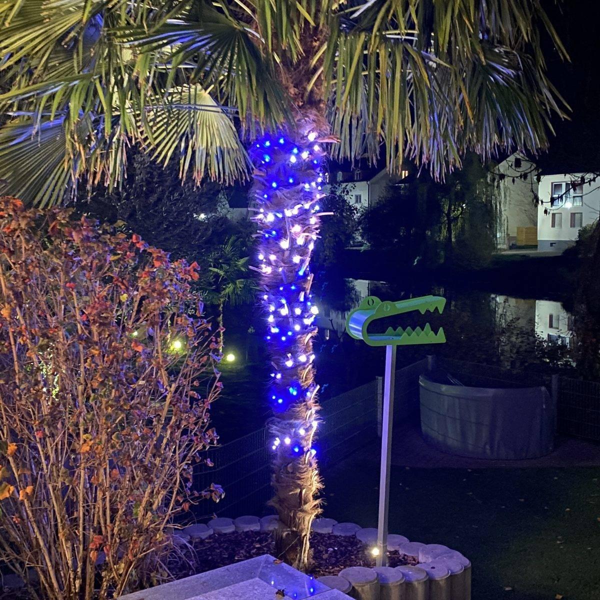 Lichterkennen außen Weihnachten