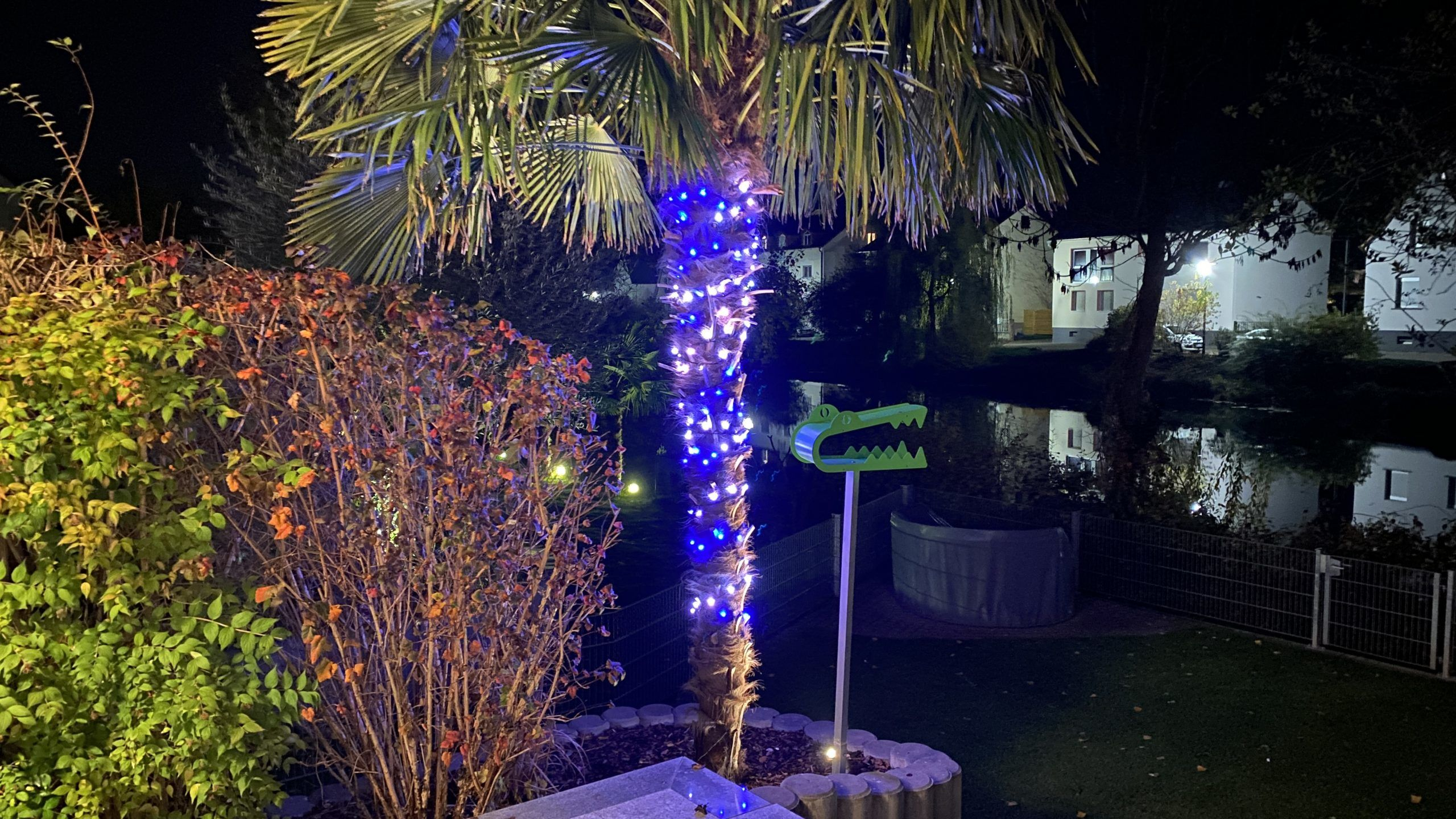 Smarte Weihnachtsbeleuchtung für Drinnen und Draußen –  bunte Weihnachten im Garten und am Weihnachtsbaum