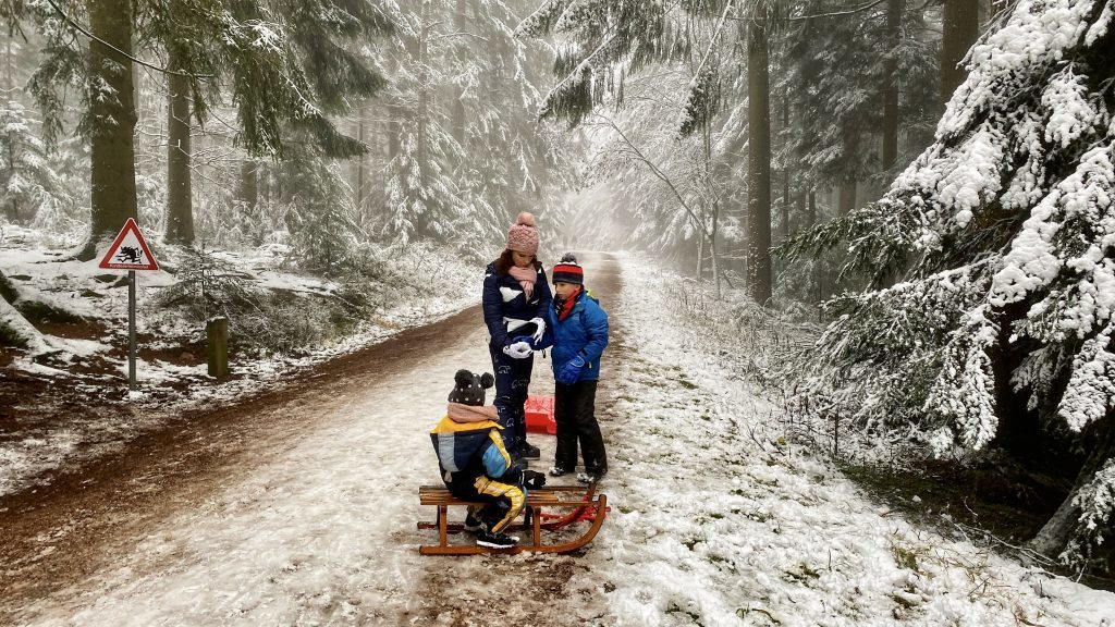 Wandern Winter Schwarzwald