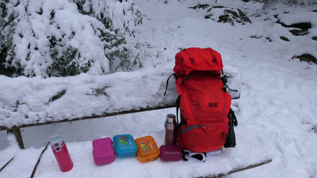 Packliste Winter Wandern Kinder