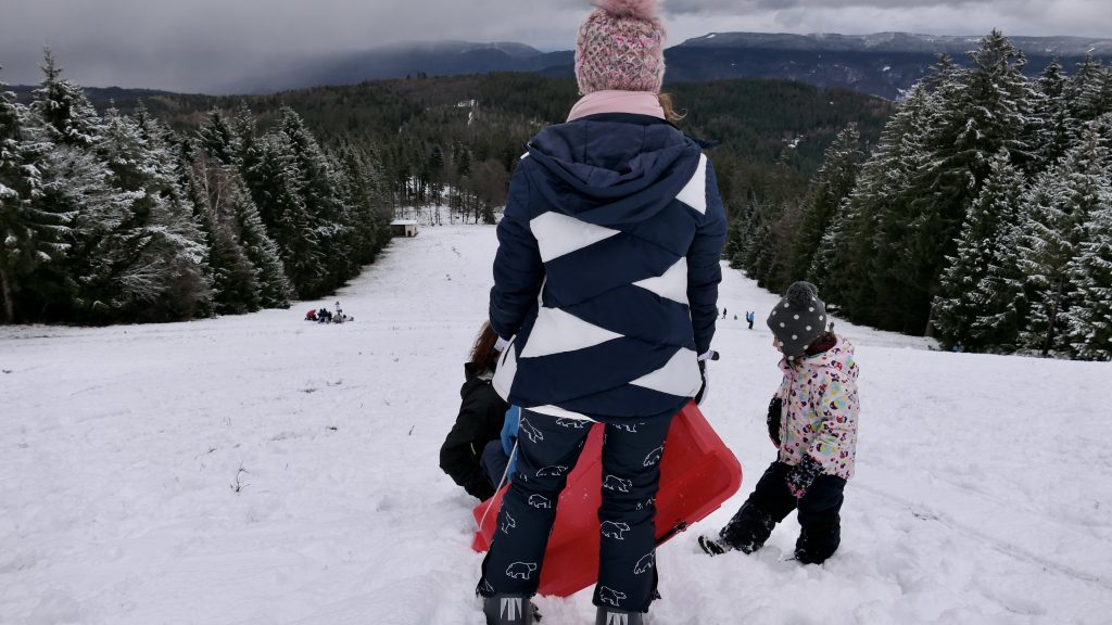 Rodeln Kinder Schwarzwald