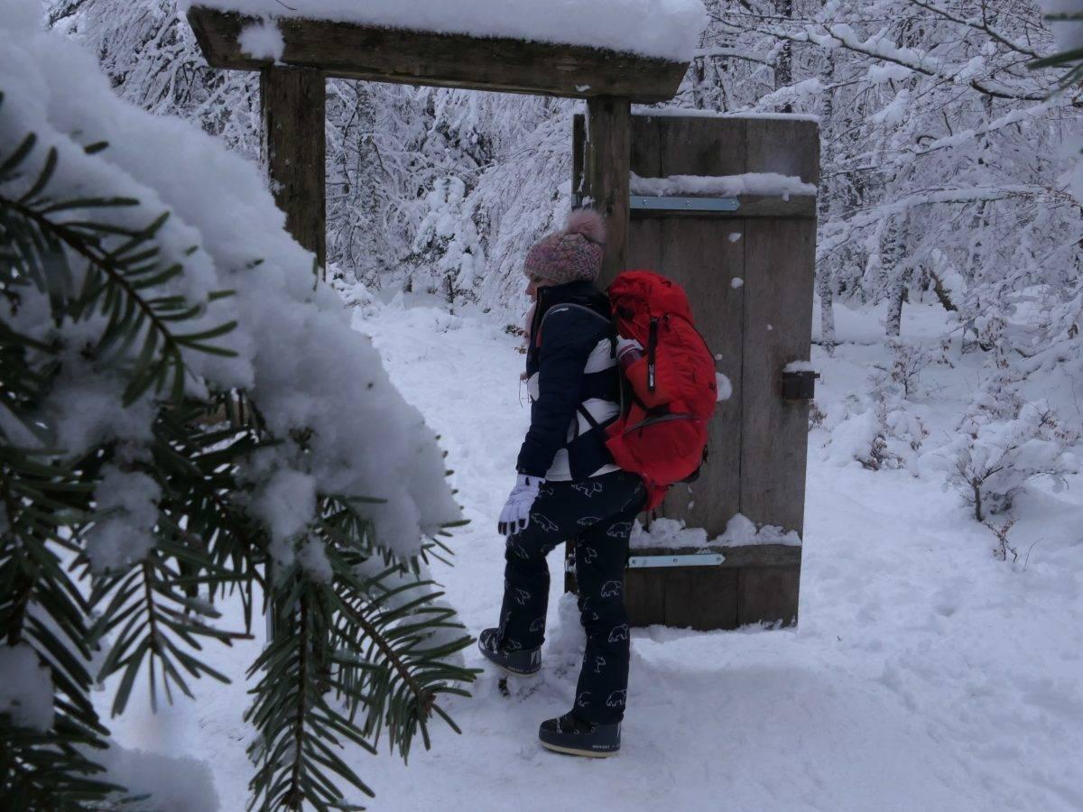 Packliste Wandern Kinder Winter