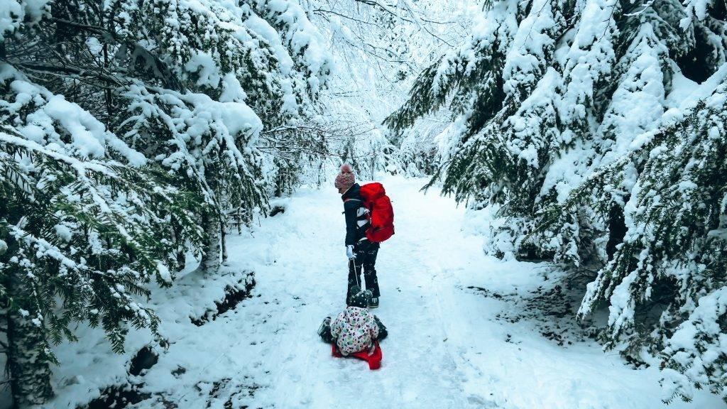 Winterwandern Märchenweg Bad Wildbad
