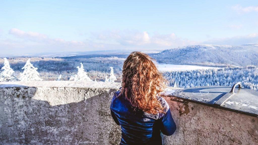 Winter Landschaft Schwarzwald