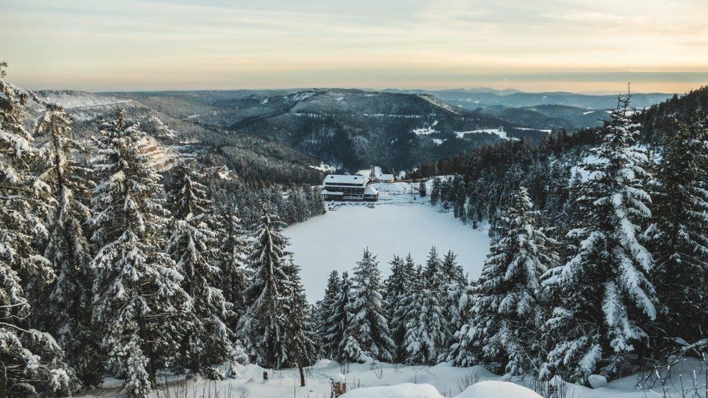 Mummelsee Hotel Schwarzwald Winter