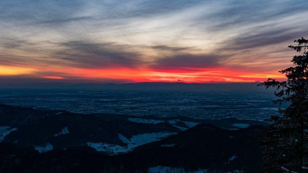 Blaue Stunde Schwarzwald
