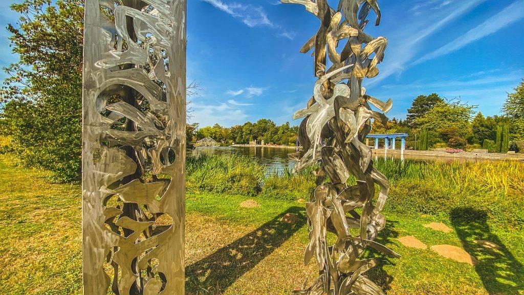 Skulpturen Ettlinger Horbachpark