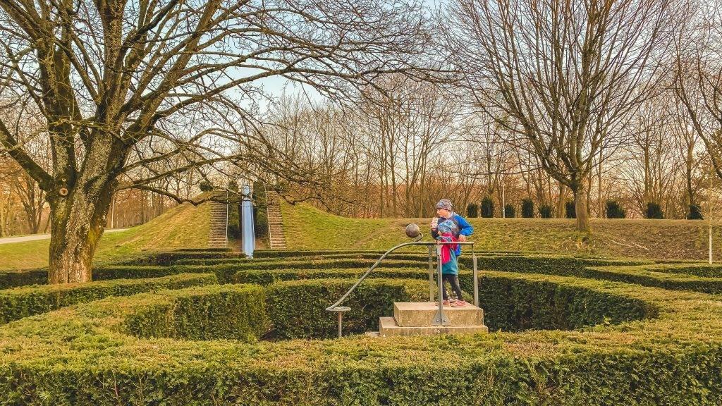 Ettlingen Irrgarten Horbachpark