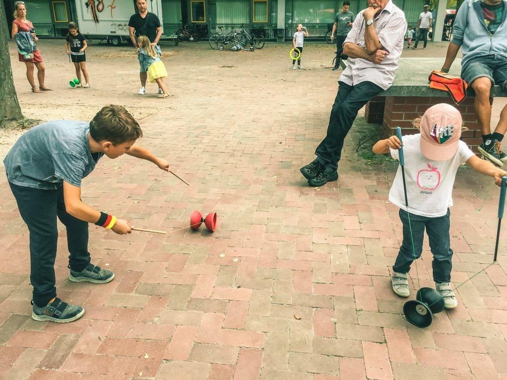 Jonglieren Kinderfest Ettlingen