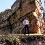 Geisterschloss-Tour im Dahner Felsenland | Entdecke bei einer Wanderung mit Kindern zwei Burgen und ein Gipfelkreuz