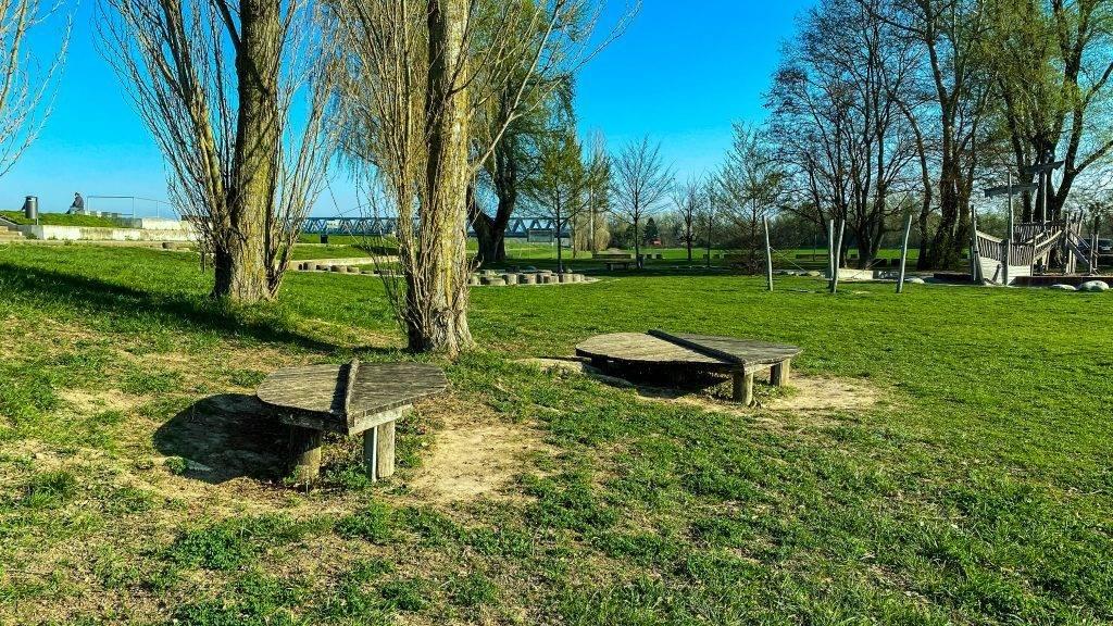 Picknick Platz Spielplatz Karlsruhe