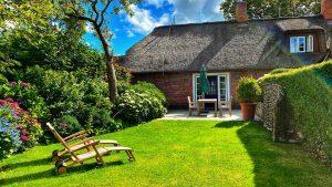 privater Garten Landhaus Altes Pastorat