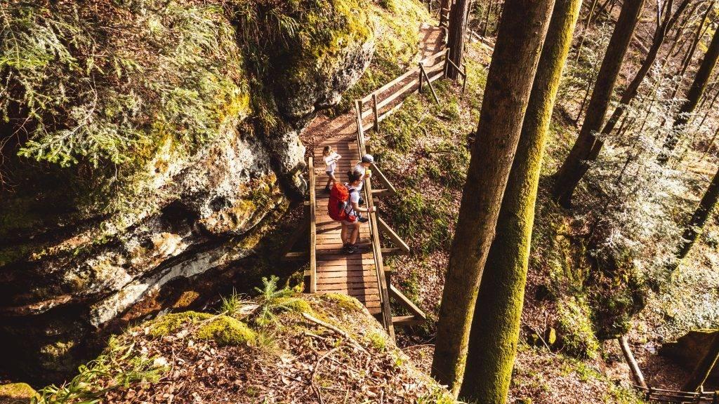 Brücke Teufelsfelsen