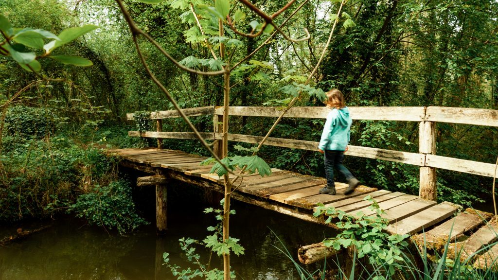 Holzbrücke Schnakenpfad