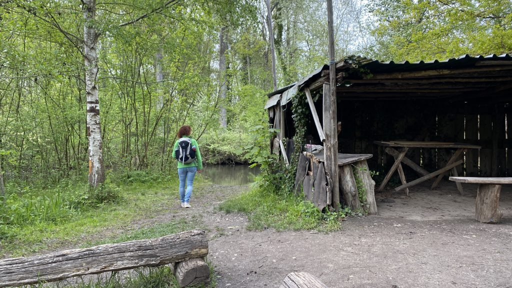 Hütte Insel Meißenheim