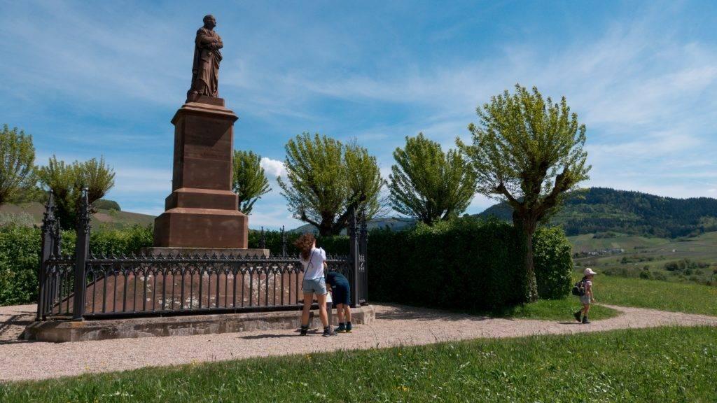 Meister Erwin Denkmal Steinbach