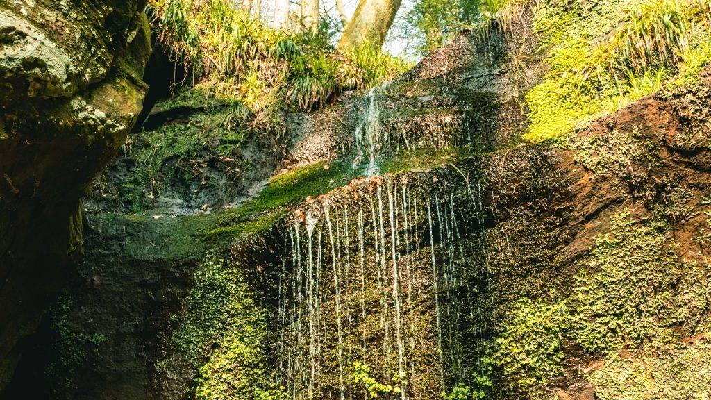 Wasserfall Teufelsfelsen