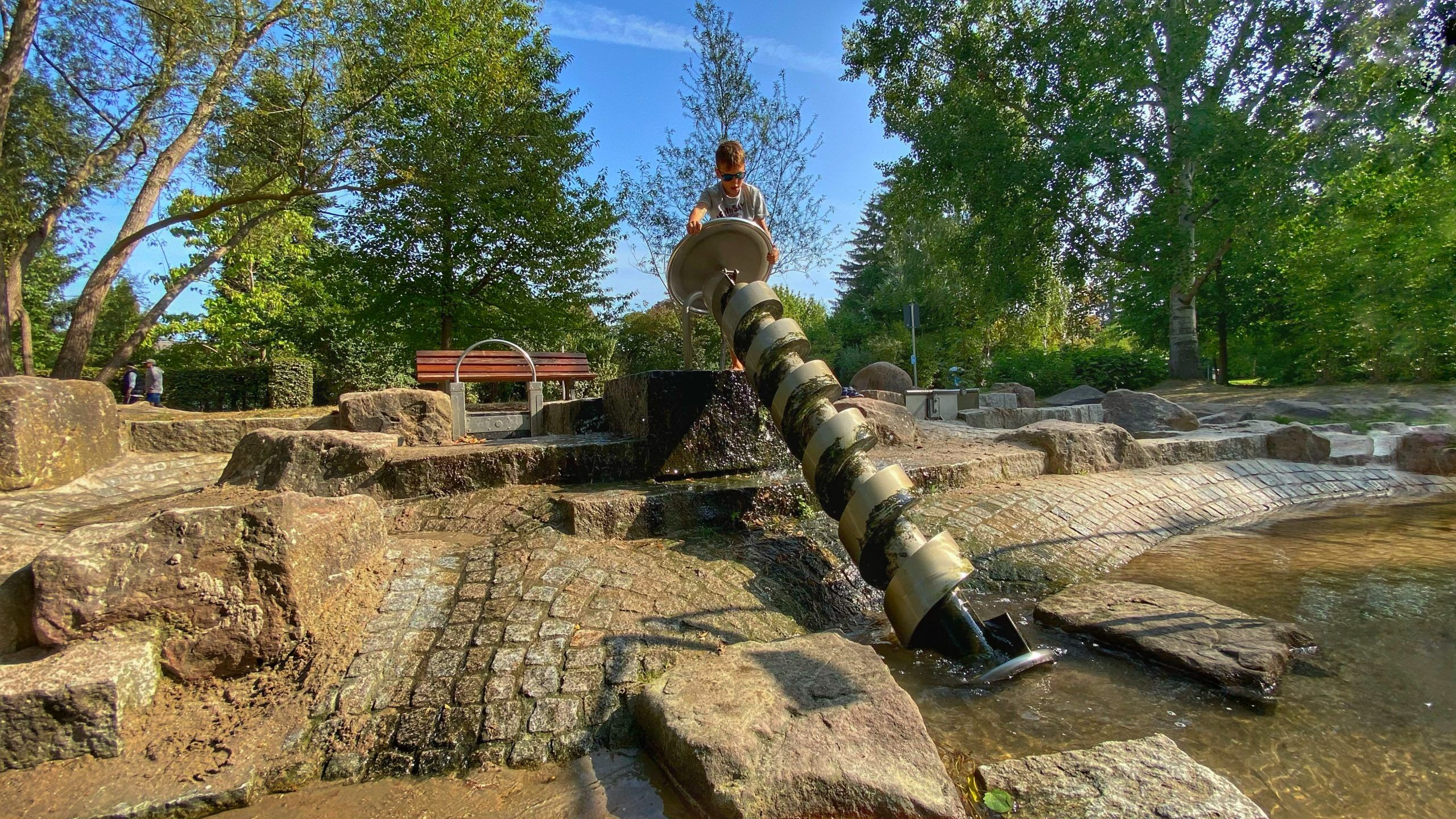 Archimedische Spirale Horbachpark