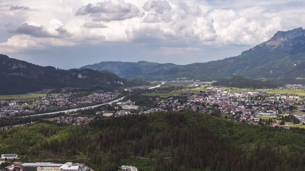 Ausblick Reutte Tirol