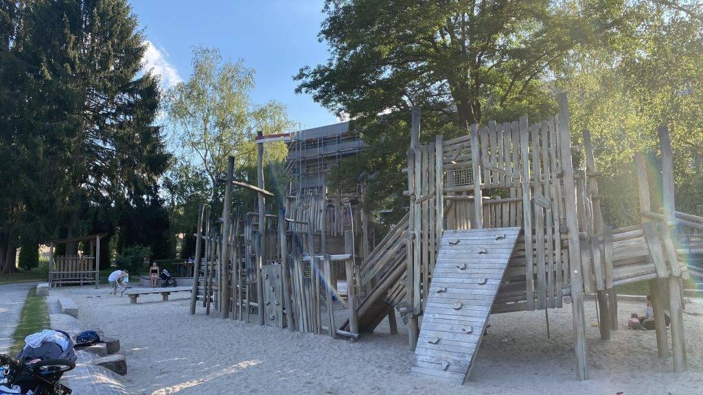 Bad Herrenalb Schweizerwiese Spielplatz