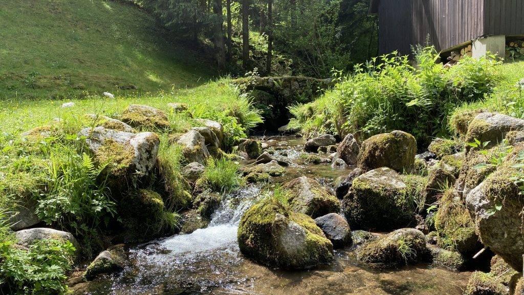 Bermersbach Wasserspielplatz