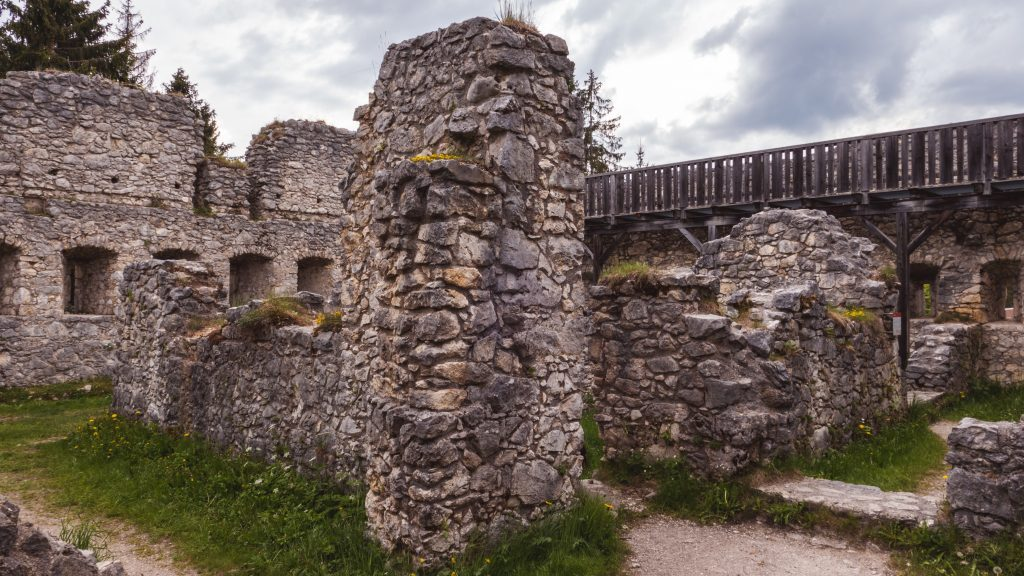 Besichtigung Fort Claudia