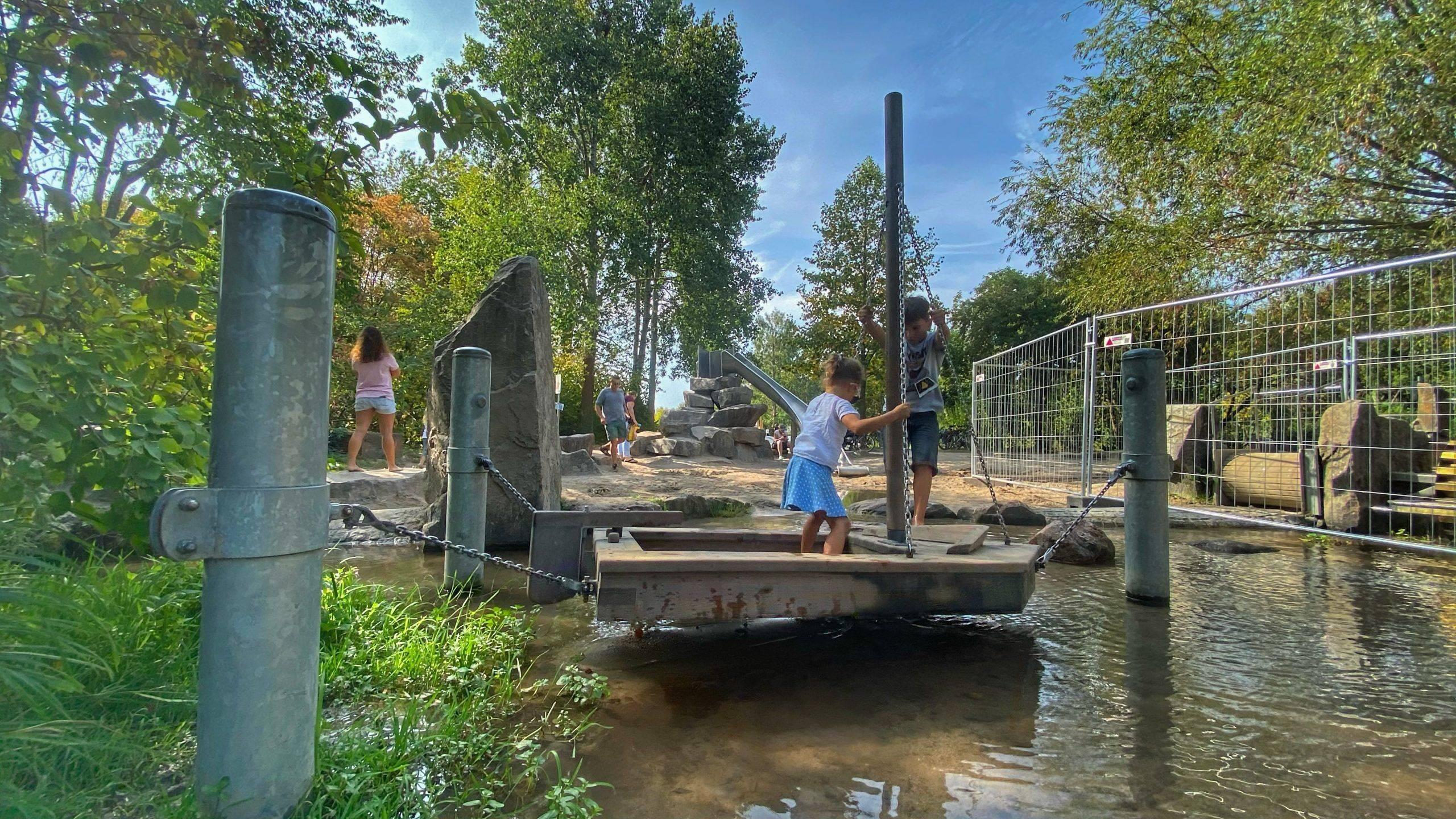 Boot Wasser Horbachpark