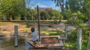 Boot Wasser Horbachpark Ettlingen