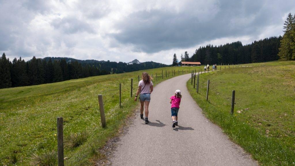Hüttenwanderung Rettenberg Kinder