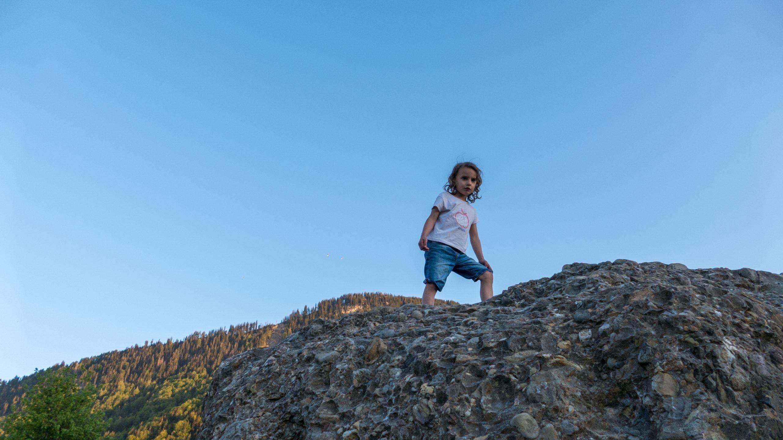 Kletterfelsen Kinder Immenstadt