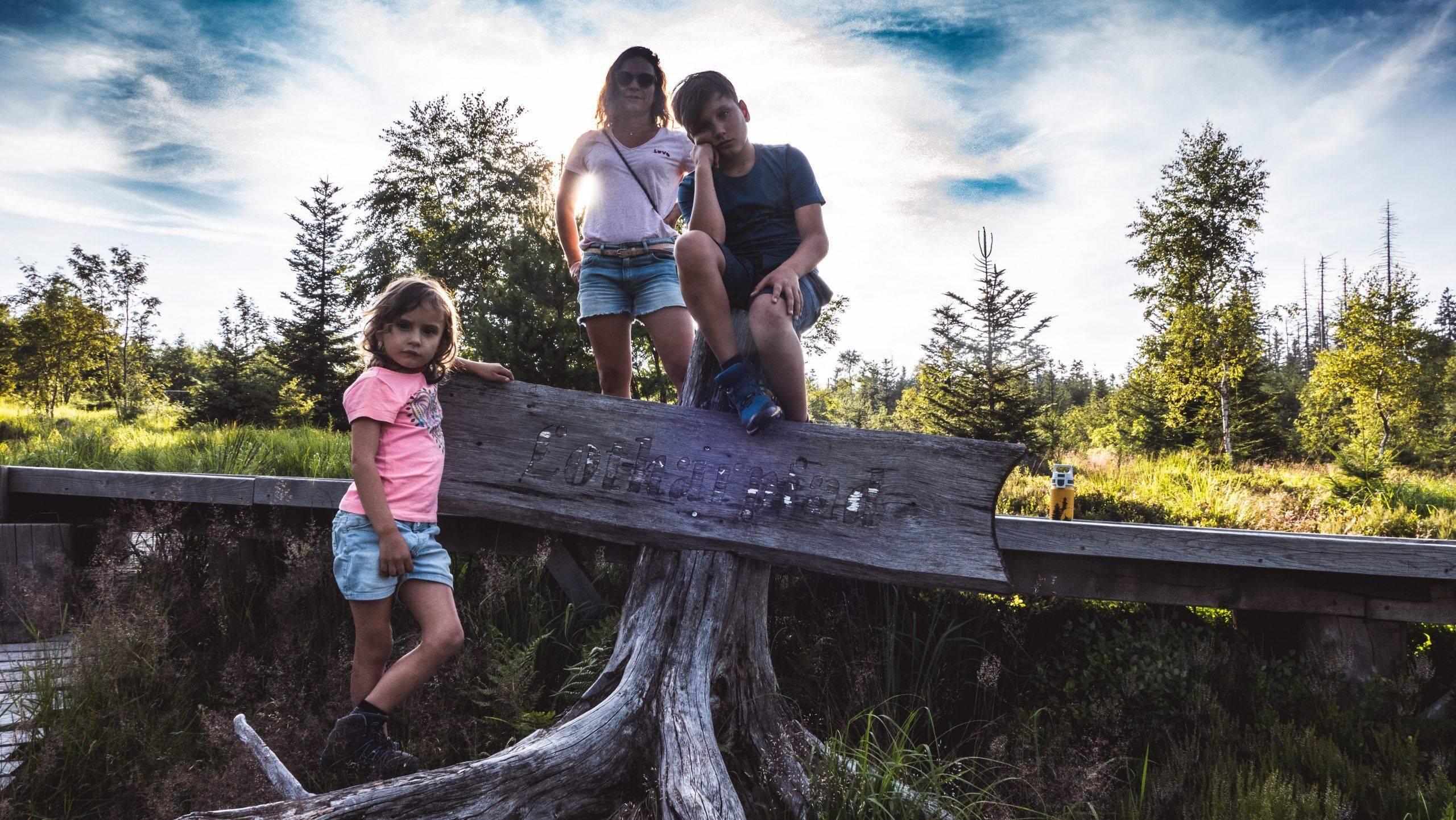 You are currently viewing Ausflug zum Lotharpfad im Schwarzwald – Klettern über Baumstämme, Laufen über Holzbohlen & geniale Aussichten