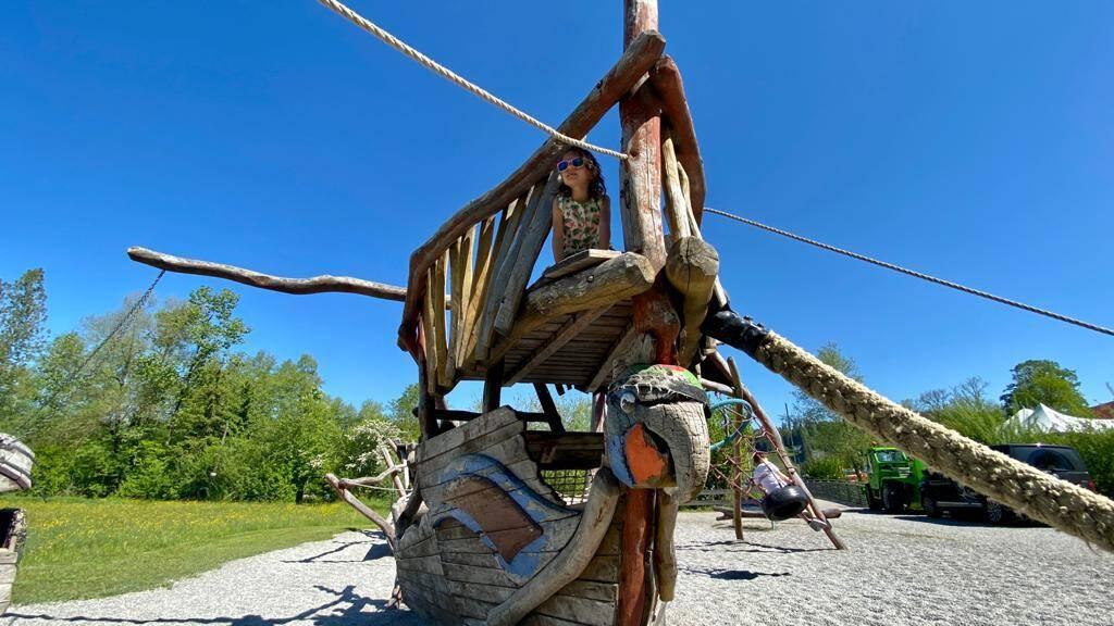 Piratenschiff Immenstadt Spielplatz Kinder