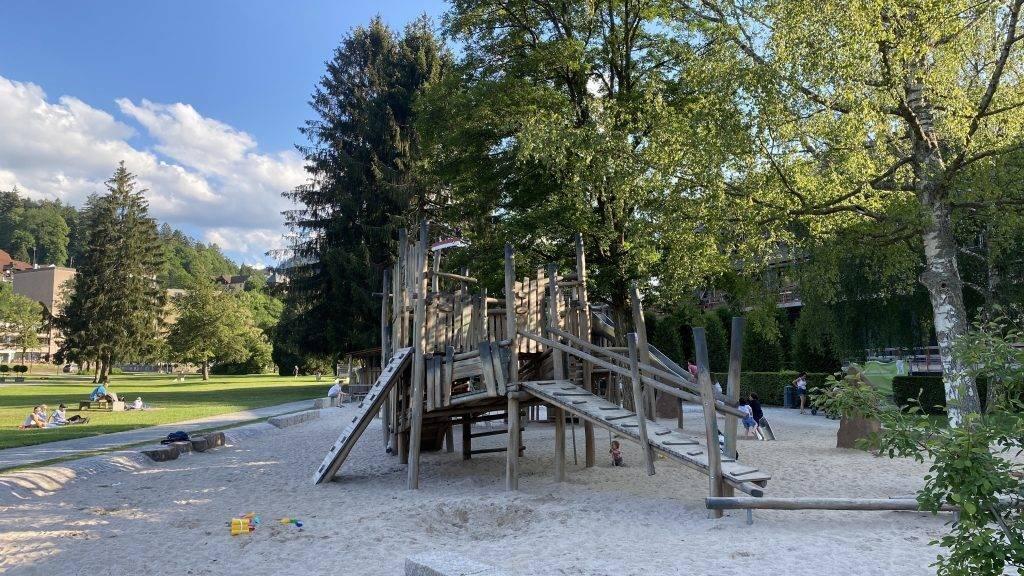 Schweizerwiese Schwarzwald Kinder Spielplatz
