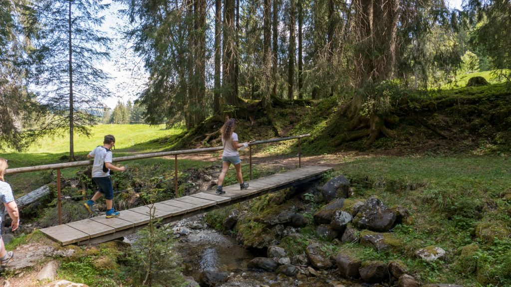 Wandern Rettenberg Kinder