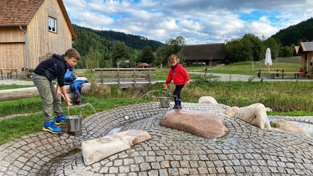 Wasserpielplatz Gutach