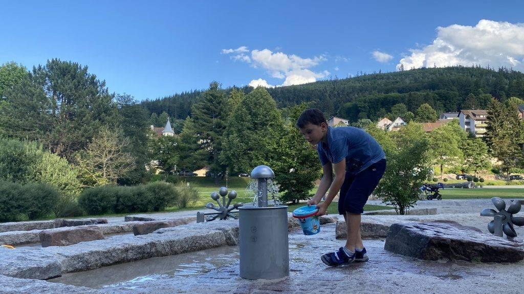 Wasserspielplatz Bad Herrenalb