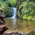 Abenteuer-Ausflug zu den Geroldsauer Wasserfälle bei Baden-Baden im Nördlichen Schwarzwald