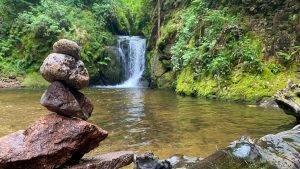 Geroldsauer Wasserfälle mit Kinder